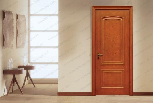 欧式古典风格木门在别墅