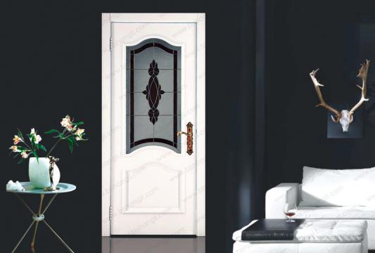 推拉式玻璃门会让居室
